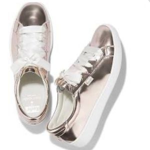 Keds Kate Spade Ace Rose Gold Sneakers Size 8
